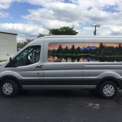 photographer van wrap custom van wraps van lettering van graphics van decals