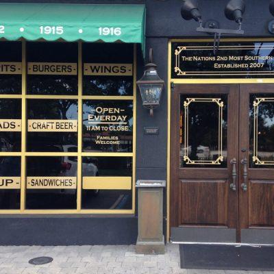 storefront signs window signs door signs window wrap door wrap door lettering naples bonita springs estero