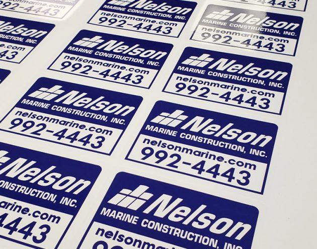 NELSON DECALS