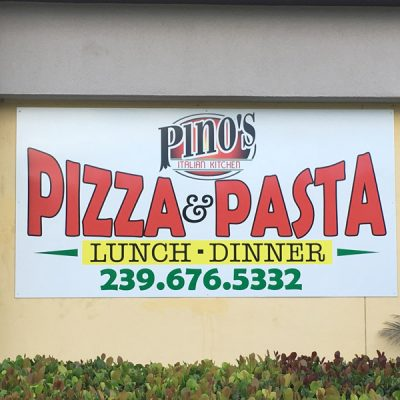 building signs pizza signs restaurant signs restaurant wraps bonita springs naples estero